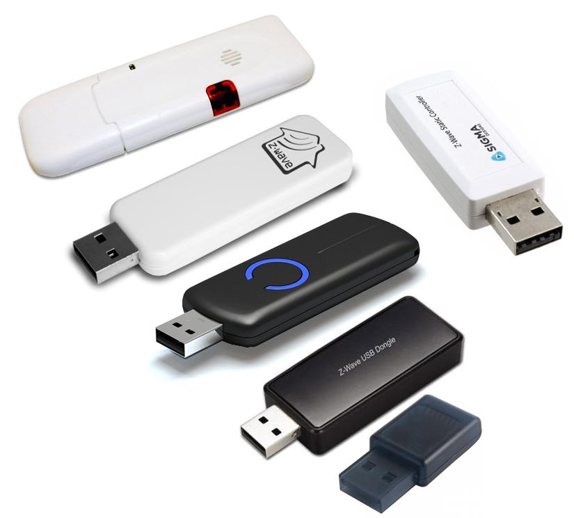 Z-Wave USB sticks